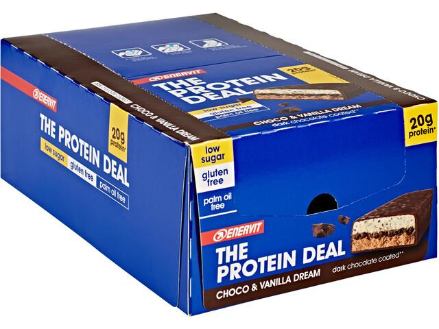 Enervit Protein Deal Bar Sacoche 25x55g, Choco Vanilla